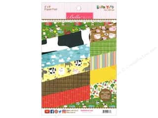 "Bella Blvd Collection Barnyard Paper Pad 6""x 8"""