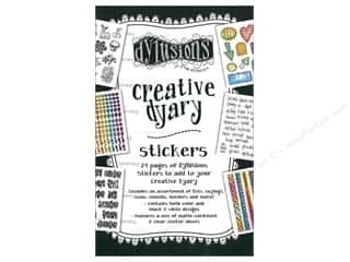 scrapbooking & paper crafts: Ranger Dylusions Creative Dyary Stickers Collection 1