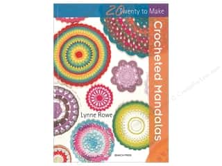 Clearance: Search Press Twenty To Make Crocheted Mandalas Book