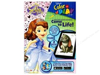 books & patterns: Bendon Color & Play Book Disney Sofia