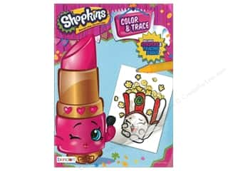 Bendon Color & Trace Book Shopkins