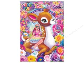 books & patterns: Bendon Activity Book with Stickers Lisa Frank