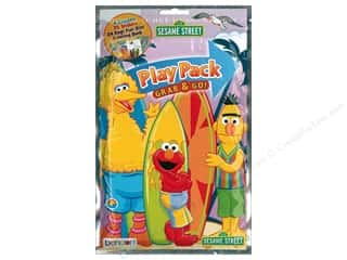 Bendon Coloring Play Pack Sesame Street Book