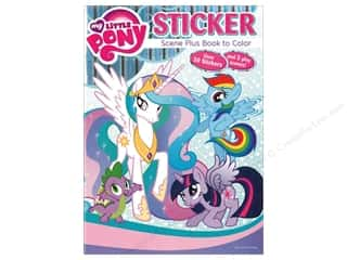 books & patterns: Bendon Coloring Book Sticker Scene My Little Pony