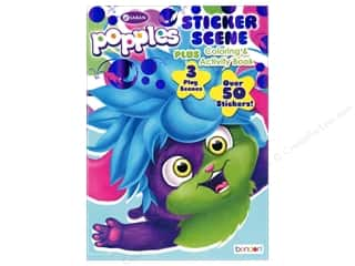 books & patterns: Bendon Coloring & Activity Book Sticker Scene Popple