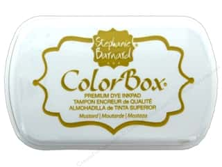 scrapbooking & paper crafts: ColorBox Premium Dye Ink Pad by Stephanie Barnard Mustard