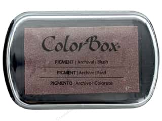 scrapbooking & paper crafts: Colorbox Full Size Pigment Inkpad Metallic Blush