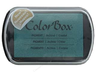 stamps: Colorbox Full Size Pigment Inkpad Coastal