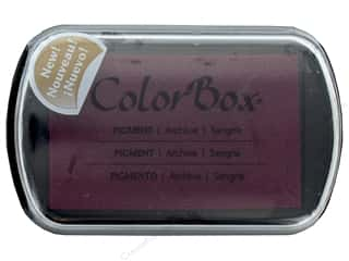 stamps: Colorbox Full Size Pigment Inkpad Sangria