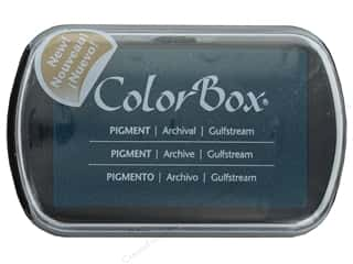 ink pads: Colorbox Full Size Pigment Inkpad Gulfstream