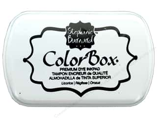 stamp cleaned: ColorBox Premium Dye Ink Pad by Stephanie Barnard Licorice
