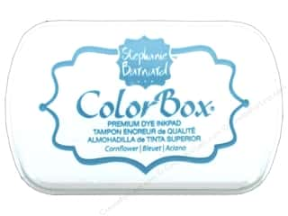 stamps: ColorBox Premium Dye Ink Pad by Stephanie Barnard Cornflower