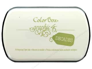 stamps: ColorBox Graphic 45 Decades Inkpad Antique Moss