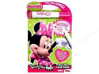 Bendon Mess Free Game Book Disney Minnie