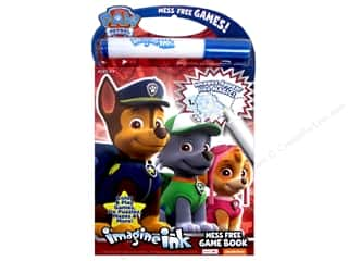 Bendon Mess Free Game Book Paw Patrol