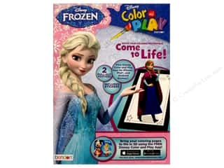books & patterns: Bendon Color & Play Book Frozen