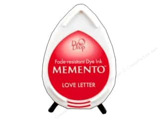 Tsukineko Memento Dye Ink Dew Drop Stamp Pad Love Letter