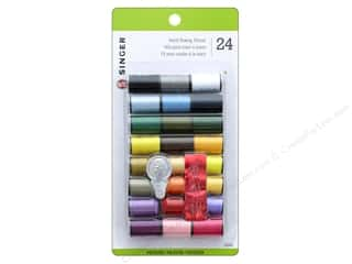 Singer All Purpose Hand Sewing Thread - Assorted 24 pc.
