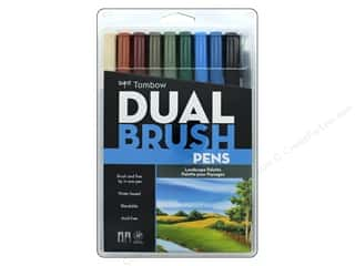 scrapbooking & paper crafts: Tombow Dual Brush Pen Set 10 pc. Landscape