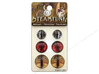 Solid Oak Finding Steampunk Dragon Eyes Earthtone