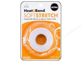 "Therm O Web PeelnStick Fabric Fuse : Heat n Bond Ultra Hold Iron-on Adhesive Soft Stretch 5/8""x 10yd"
