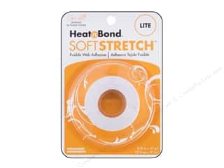 "therm o web foam adhesive: Heat n Bond Lite Iron-on Adhesive Soft Stretch 5/8""x 10yd"