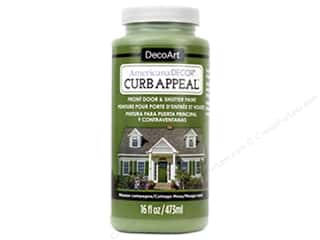 craft & hobbies: DecoArt Americana Decor Curb Appeal Paint 16 oz. Cottage Moss