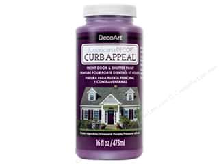 craft & hobbies: DecoArt Americana Decor Curb Appeal Paint 16 oz. Vineyard Purple