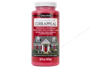 DecoArt Americana Decor Curb Appeal Paint 16 oz. Modern Red