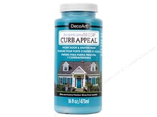 Sale: DecoArt Americana Decor Curb Appeal Paint 16 oz. Harbor Blue