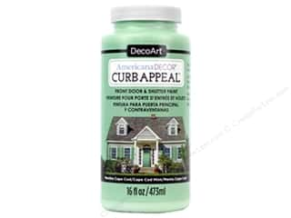 craft & hobbies: DecoArt Americana Decor Curb Appeal Paint 16 oz. Cape Cod Mint