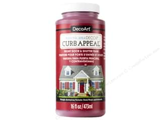 DecoArt Americana Decor Curb Appeal Paint 16 oz. Estate Red