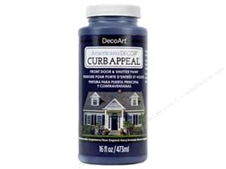 craft & hobbies: DecoArt Americana Decor Curb Appeal Paint 16 oz. New England Navy