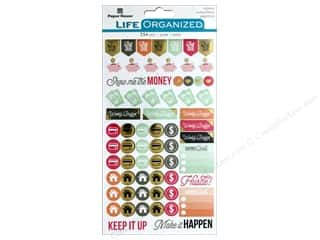 stickers: Paper House Collection Life Organized Sticker Budget
