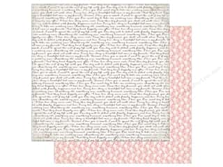 "Echo Park Collection Wedding Bliss Paper 12""x 12"" Wedding Script (25 pieces)"