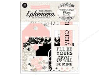 Echo Park Collection Wedding Bliss Ephemera Frames & Tags