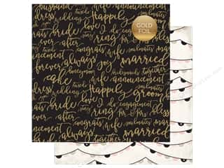 "Echo Park Collection Wedding Bliss Paper 12""x 12"" Forever And Always (25 pieces)"