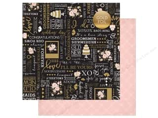 "Echo Park Collection Wedding Bliss Paper 12""x 12"" True Love (25 pieces)"