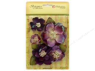 leaves: Petaloo Botanica Collection Magnolia Mix Lavender/Purple