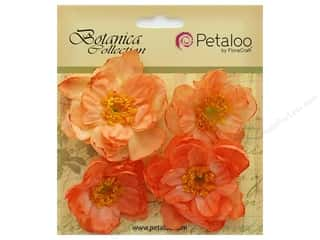 Petaloo Botanica Collection Ruffled Peony Peach