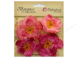 Petaloo Botanica Collection Ruffled Peony Soft Pink