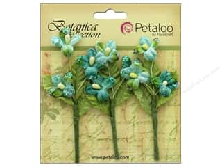 Petaloo Botanica Collection Fairy Blossom Branch Teal