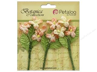 Petaloo Botanica Collection Fairy Blossom Branch Peach