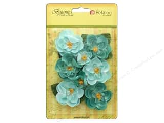 leaves: Petaloo Botanica Collection Ranunculus Teal