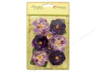 leaves: Petaloo Botanica Collection Ranunculus Lavender/Purple