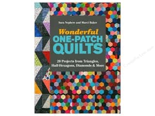 books & patterns: C&T Publishing Wonderful One-Patch Quilts Book