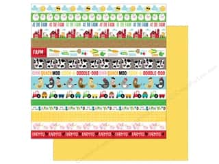 "Bella Blvd Collection Barnyard Paper 12""x 12"" Borders (25 pieces)"