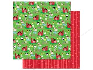 """Bella Blvd Collection Barnyard Paper 12""""x 12"""" On The Farm (25 pieces)"""