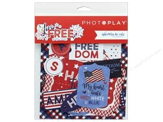 die cuts: Photo Play Collection Live Free Ephemera Die Cuts (3 sets)
