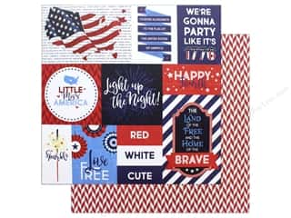 "scrapbooking & paper crafts: Photo Play Collection Live Free Paper 12""x 12"" Land That I Love (25 pieces)"